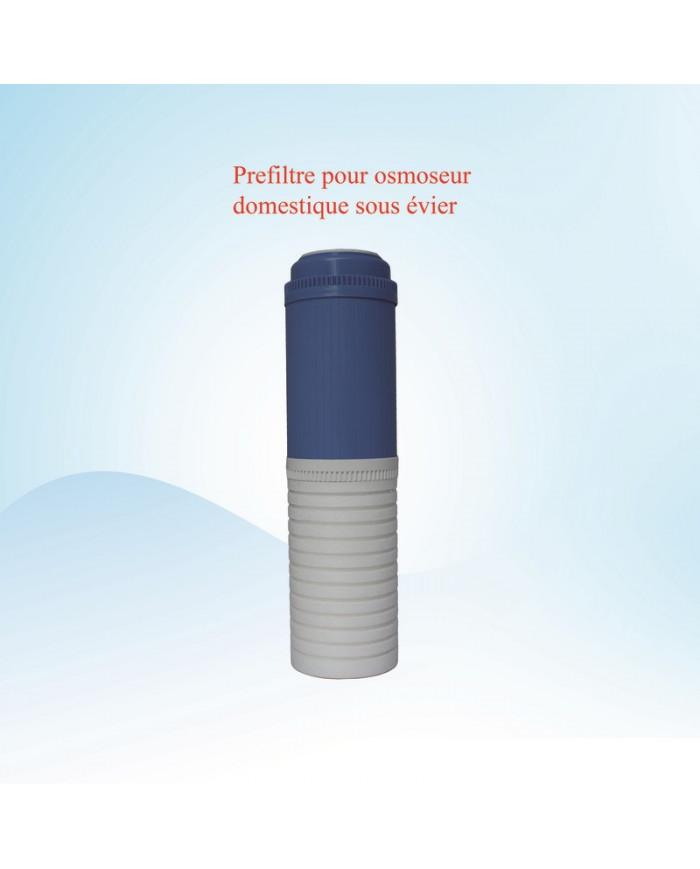 Préfiltre pour osmoseur sous évier