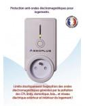 Absoplug Alpha, absorbeur pollution électromagnétiques
