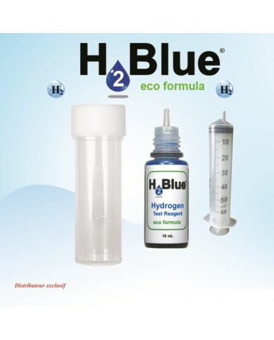 Test de l'hydrogène moléculaire dissous de l'eau hydrogénée